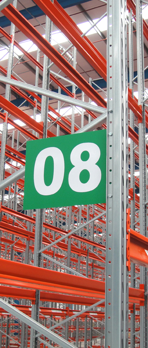 Warehouse Signs - Aisle Marker
