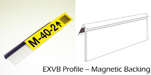 EXVB Magnetic Ticket Strips