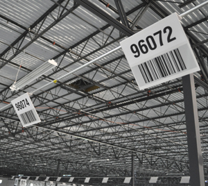 Warehouse Hanging Signs