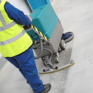 Warehouse Floor Cleaning Services